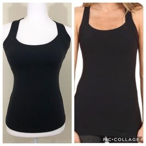 Lucy tank with attached padded sports Bra size XS
